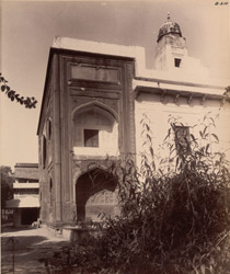 Sikandra. Suraj Bhan Bagh. South-east corner, from the east
